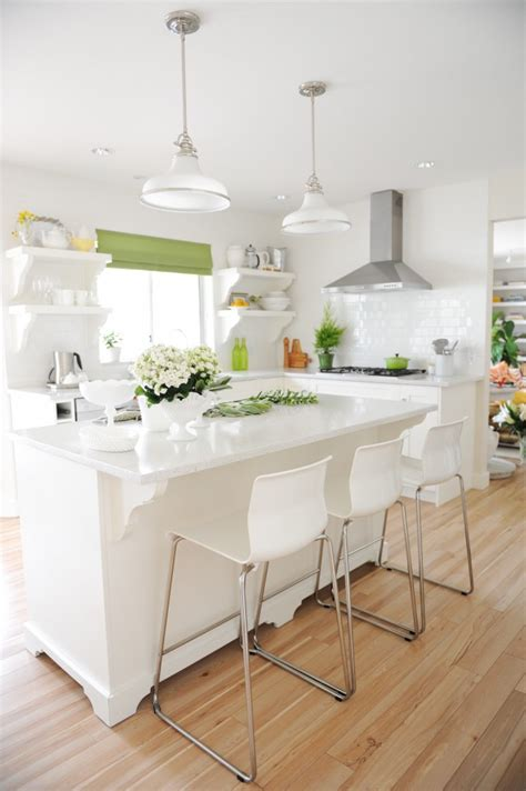 white kitchen  style  home including