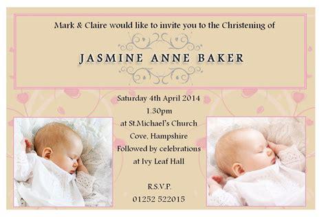 free baptism invitation templates word Baby dedication