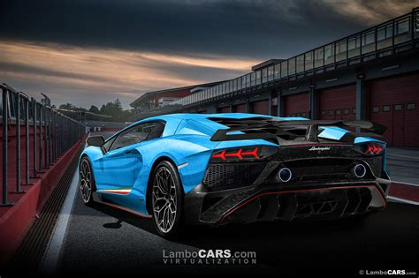 Will Lamborghini show the final Aventador evolution in ...