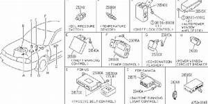 Infiniti G20 Engine Oil Pressure Switch  Lubricating