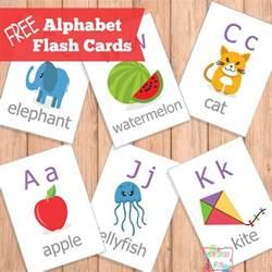 free printable abc flash cards printable alphabet
