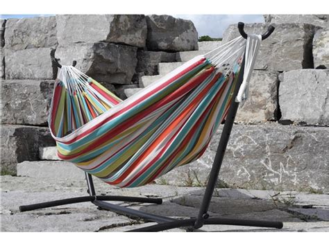 10 Foot Hammock by Vivere Polyester Hammock With Stand 9 Foot Ciao
