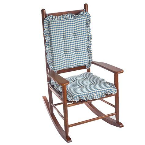 gripper chair pads green gripper omega chestnut jumbo rocking chair cushion set