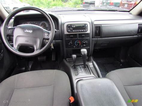 jeep grand cherokee dashboard 2004 jeep grand cherokee laredo 4x4 dark slate gray