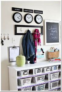Mudroom Organizing Wall–Grand Central Station In My Own