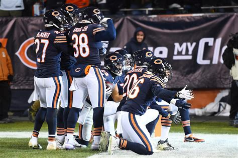 chicago bears game balls  beating  rams