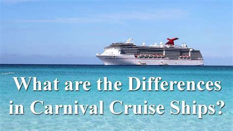 Carnival Cruise Ship Comparison | Fitbudha.com