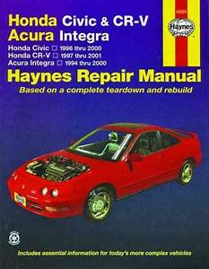 Honda Civic Cr V Crv Acura Integra 1994 2001