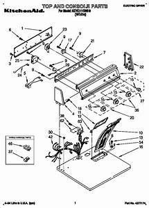 Kitchenaid Electric Dryer Parts