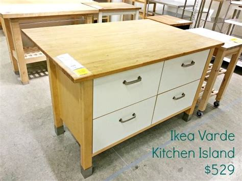 ikea kitchen island with drawers how to seal ikea varde butcher block polyurethane clever
