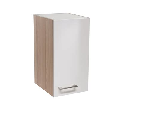 Küchen-hängeschrank Florenz Oberschrank Küchenschrank 1 Tür 30 Cm Perlmutt Weiss