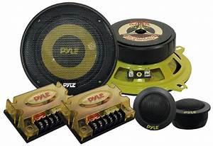 Pyle - Plg5c - Marine And Waterproof - Vehicle Speakers - On The Road
