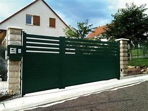 Portail Coulissant En Pente : fabricant portail lyon 69 rh ne automatisme portail ~ Premium-room.com Idées de Décoration