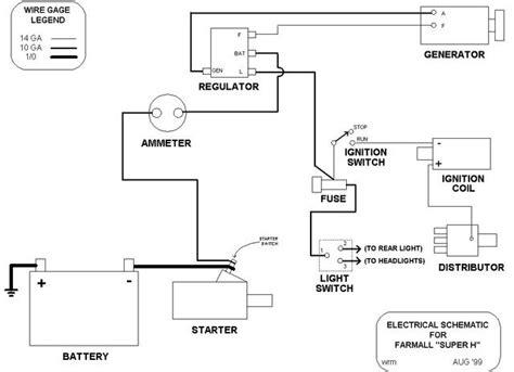 Farmall H Diagram by Farmall M Hydraulic Diagram Wiring Wiring Diagram Images