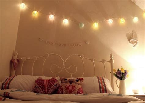 fairy lights   bedroom google    good idea