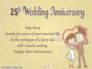 25th anniversary wishes for friend wishes greetings With images of 25th wedding anniversary cards