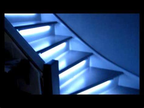 Spot Encastrable Pour Escalier by Eclairage Automatique De Mes Escaliers Youtube