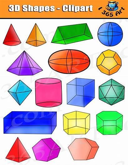3d Clipart Shapes Prism Clip Graphics Shape