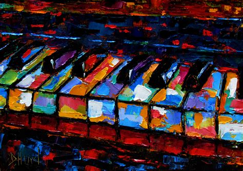 debra hurd original paintings and jazz abstract piano painting keyboard painting