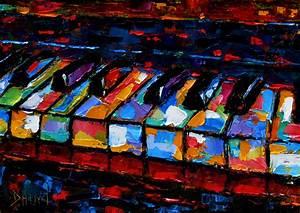Debra Hurd Original Paintings AND Jazz Art: Abstract piano ...