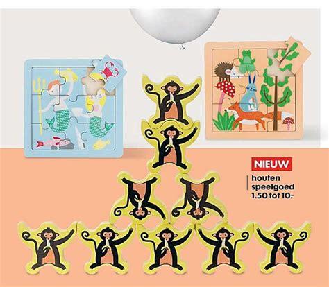 Speelgoed Aanbiedingen by Houten Speelgoed Folder Aanbiedingen