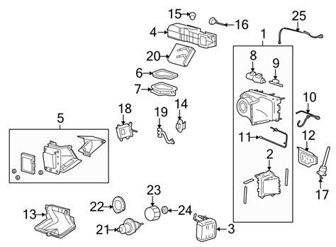 Fuzcba Ford Hvac Vacuum Harness Front Evaporator