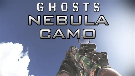 Call Of Duty Ghosts Nebula Camo On All Weapons Cod