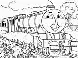 James Train Coloring Pages Printable Getcolorings sketch template
