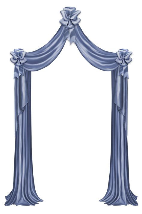 clipart foto blue curtain decor png clipart picture gallery