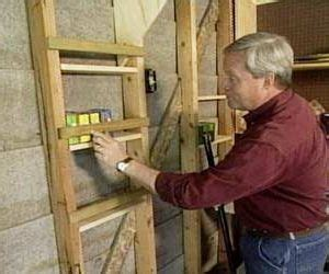 wall studs  storage   garage garage