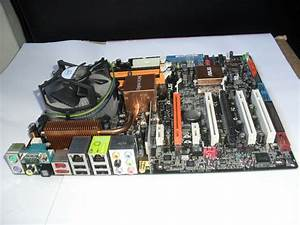 Asus P5w Dh Digital Home Deluxe Motherboard  Cpu   Ram   Hard Drive Pc Joblot Parts