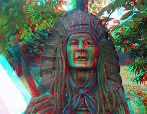 3D red/cyan Anaglyph