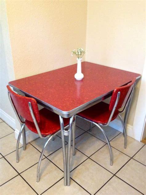 vintage  formica  chrome kitchen table
