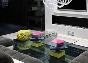 Verre Sur Mesure Pour Table : table basse laqu e sur mesure mobilier les pieds sur la ~ Dailycaller-alerts.com Idées de Décoration