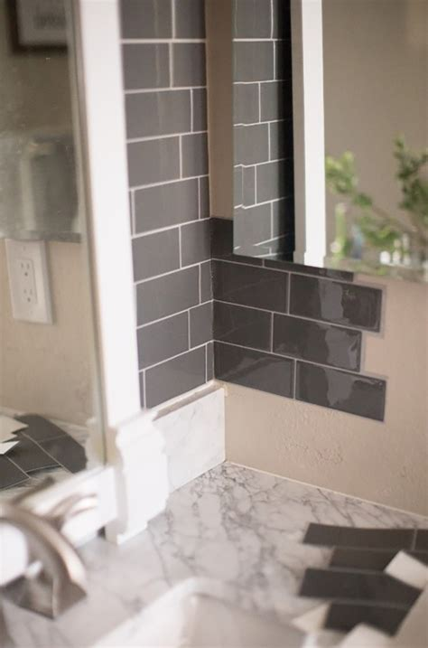 Peel And Stick Tile In Bathroom by Transform Your Bathroom With Peel And Stick Tiles Home