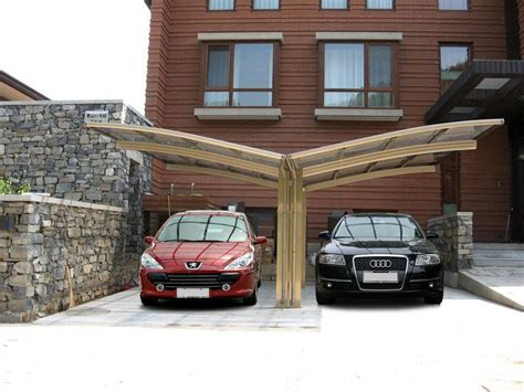 garde aluminum carport  polybonate sheet roof car