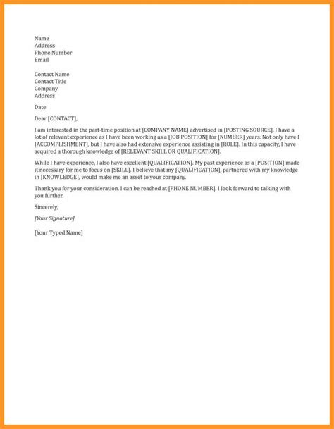 general cover letters  employment bio letter format