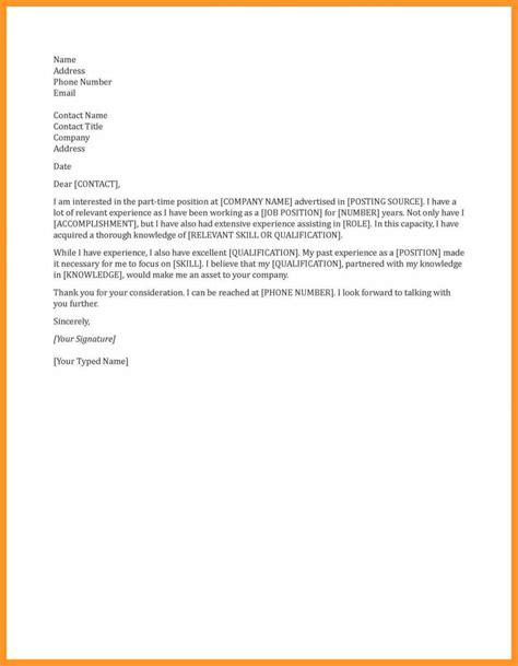 general cover letters  employ ment bio letter format