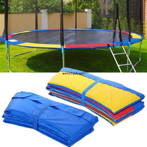 This trampoline canopy tent will fit 10ft jumppod trampoline models from 2009 to 2015 and premium jumpking trampolines. 10FT/12FT/14FT/15FT Trampoline Safety Pad Round Frame Pad C