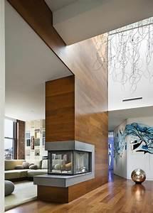 Wohnzimmer Holz Modern : kamin einbauen eine funkzionelle entscheidung ~ Indierocktalk.com Haus und Dekorationen