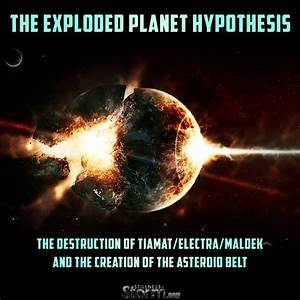 The Exploded Planet Hypothesis: The Destruction of Tiamat ...