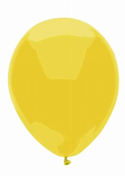 Balloon Yellow Pink Orange Purple Drawing Clip