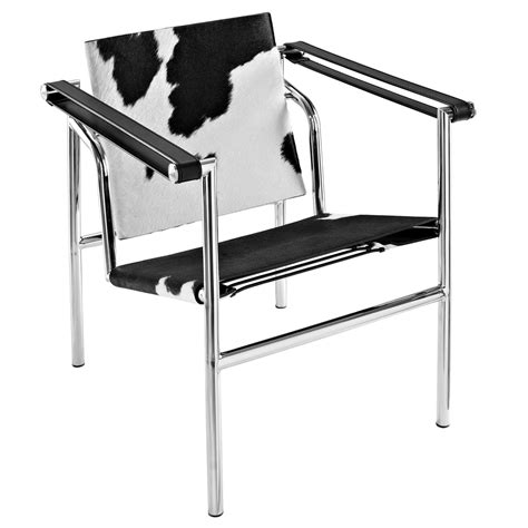 Cowhide Sling Chair by Le Corbusier Style Lc1 Sling Chair Cowhide