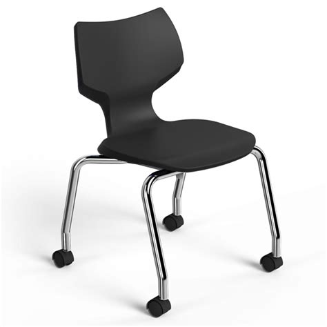 smith system 11855 flavors mobile stack chair 18 quot h