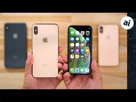 on apple s iphone xs and xs max are gorgeous and a