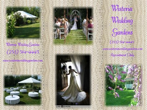 pictures for wisteria wedding gardens in port orchard wa