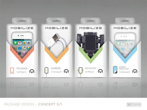 mobile phone accessories  packaging designs