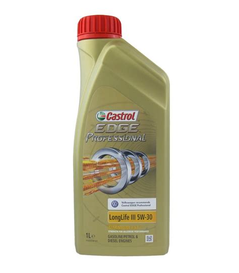 castrol edge 5w30 castrol edge professional longlife iii 5w 30 mancini