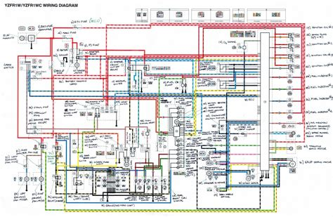 Yamaha Yzf Motorcycle Wiring Diagram All About