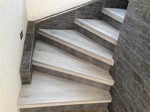 Habillage Escalier Bois : renovation rampe escalier bois hm31 jornalagora ~ Dode.kayakingforconservation.com Idées de Décoration